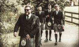 Groom by Edinburgh Wedding Photographer Ewan Mathers