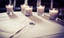 The Rings by Edinburgh Wedding Photographer Ewan Mathers