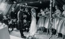 The Ceremony by Edinburgh Wedding Photographer Ewan Mathers