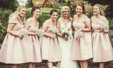 Bridesmaids by Edinburgh Wedding Photographer Ewan Mathers