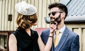 Wedding Guests by Edinburgh Wedding Photographer Ewan Mathers