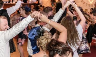 Scottish Country Dancing by Edinburgh Wedding Photographer Ewan Mathers