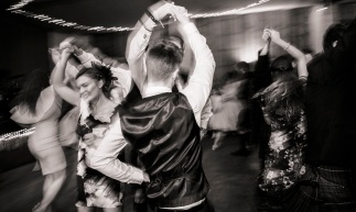 Scottish Country Dancing by Highland Wedding Photographer Ewan Mathers
