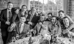 The best men by Edinburgh Wedding Photographer Ewan Mathers