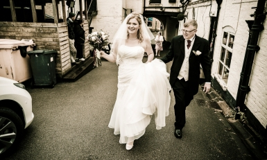 Bridal party by Edinburgh Wedding Photographer Ewan Mathers