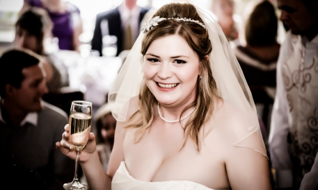 Bride by Edinburgh Wedding Photographer Ewan Mathers