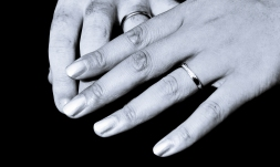 Wedding rings by Edinburgh Wedding Photographer Ewan Mathers