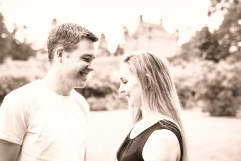 Engagement Photos at Cawdor Castle by Edinburgh Wedding Photographer Ewan Mathers