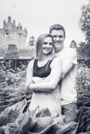 Engagement Photos at Cawdor Castle by Edinburgh Wedding Photographer Ewan Mathers