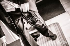 Wedding Shoes by Highland Wedding Photographer Ewan Mathers
