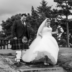 Highland Wedding Photographer in Edinburgh