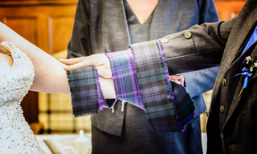 Tying the Knot by Highland Wedding Photographer Ewan Mathers