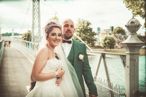 Bridge over the Ness by Edinburgh Wedding Photographer Ewan Mathers
