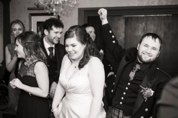 Dancing by Edinburgh Wedding Photographer Ewan Mathers