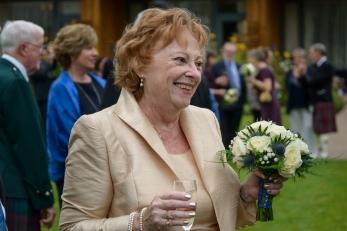 The Bride by Edinburgh Wedding Photographer Ewan Mathers