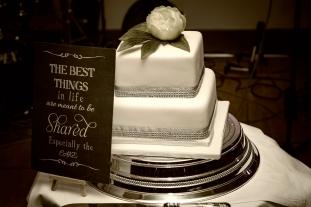 The Wedding Cake by Inverness Wedding Photographer Ewan Mathers