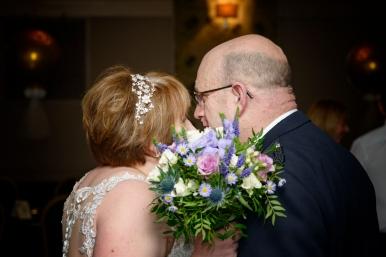 Bride and Groom by Edinburgh Wedding Photographer Ewan Mathers