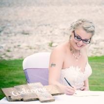 Signing the Register by Wedding Photographer in Edinburgh - Ewan Mathers