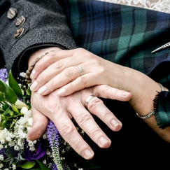Wedding Rings by Wedding Photographer in Edinburgh - Ewan Mathers