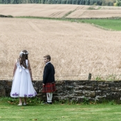 Children by Wedding Photographer in the Highlands of Scotland - Ewan Mathers