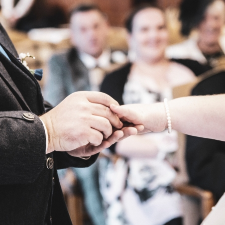 The Rings by Wedding Photographer in Edinburgh - Ewan Mathers