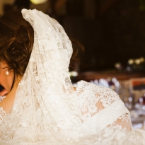 Vintage Veil by Wedding Photographer in Edinburgh - Ewan Mathers