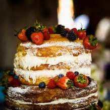 Wedding Cake by Wedding Photographer in Edinburgh - Ewan Mathers