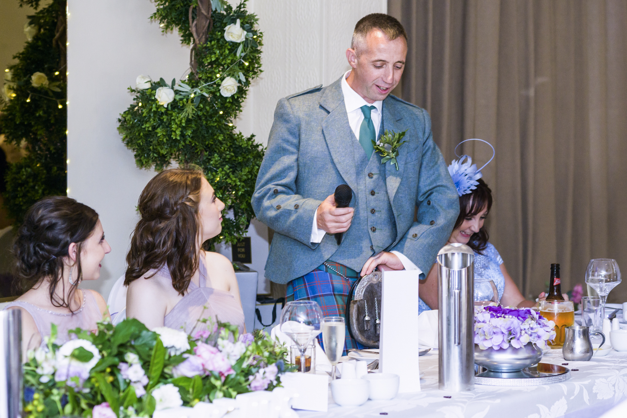 Wedding Photographer in Edinburgh Highlands Scotland - Ewan Mathers